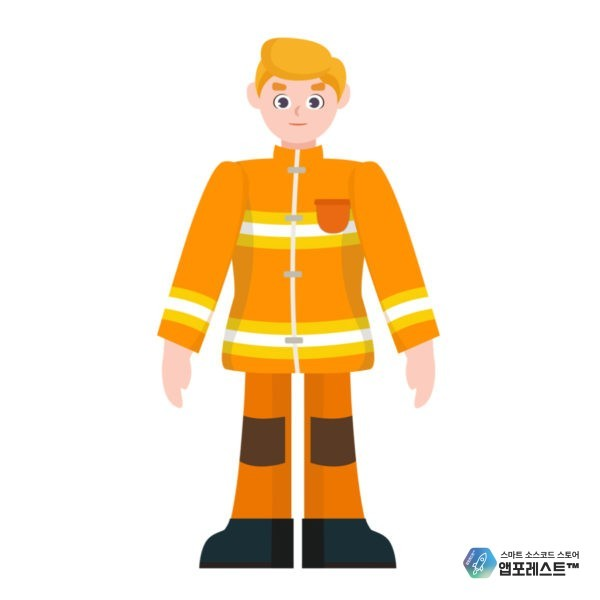 metagraphic metaverse interactive character puppet Firefighter Victor